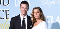 Gisele Bündchen Cheers on Husband Tom Brady from Home in Buccaneers Jersey
