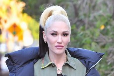 Gwen Stefani Swaps a Denim Jumpsuit & Gold Boots for a Sheer Catsuit & Glittering Booties in a Clever Dance
