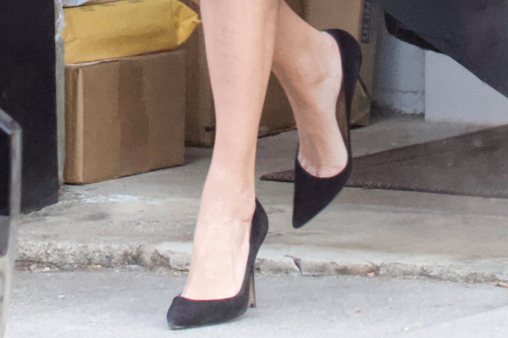 ivanka trump, house, washington dc, dress. coat, black, heels, face mask, work, job