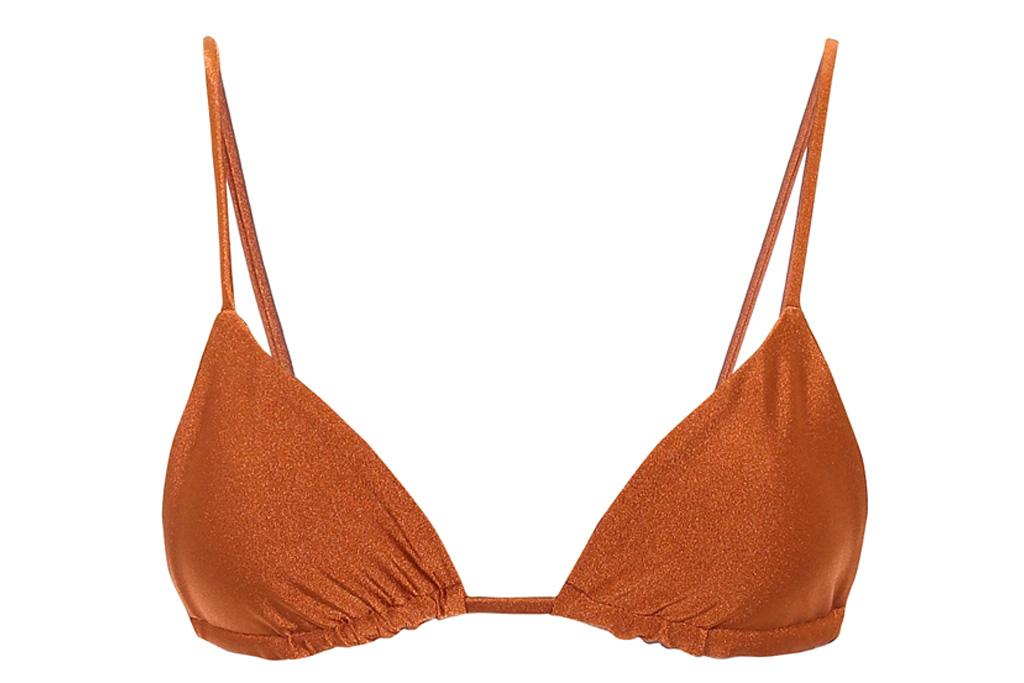 jade swim, bikini, brown