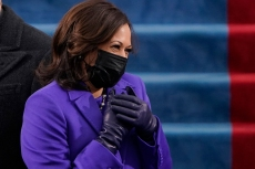 Kamala Harris Makes a Statement For Unity in Purple Coat at the Inauguration Day Ceremony
