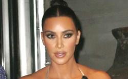 kim kardashian, bralette, tights