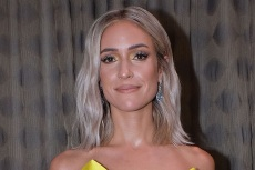 Kristin Cavallari Pulls Off Waist-Up Styling in a Cutout Dress & Mismatching Socks