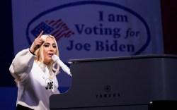 lady gaga, Joe Biden