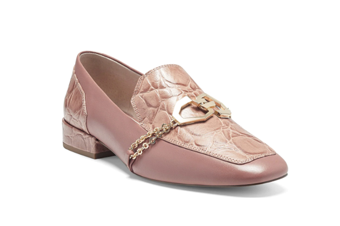 louise et cie everland loafer, chain shoes trend