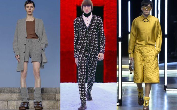 fall 2021, fall 2021 men's, fall 2021 men's trends, men's trends, 2021 trends, 2021 men's trens, menswear, prada, dries van noten, fendi, fendi shoes, prada shoes