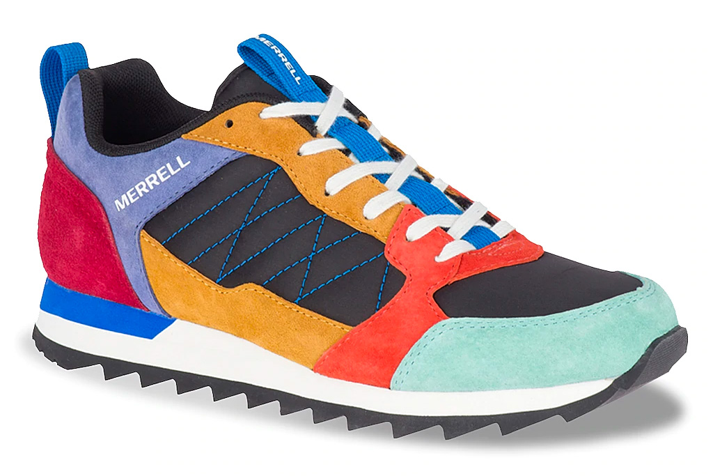sneakers, colorful, merrell