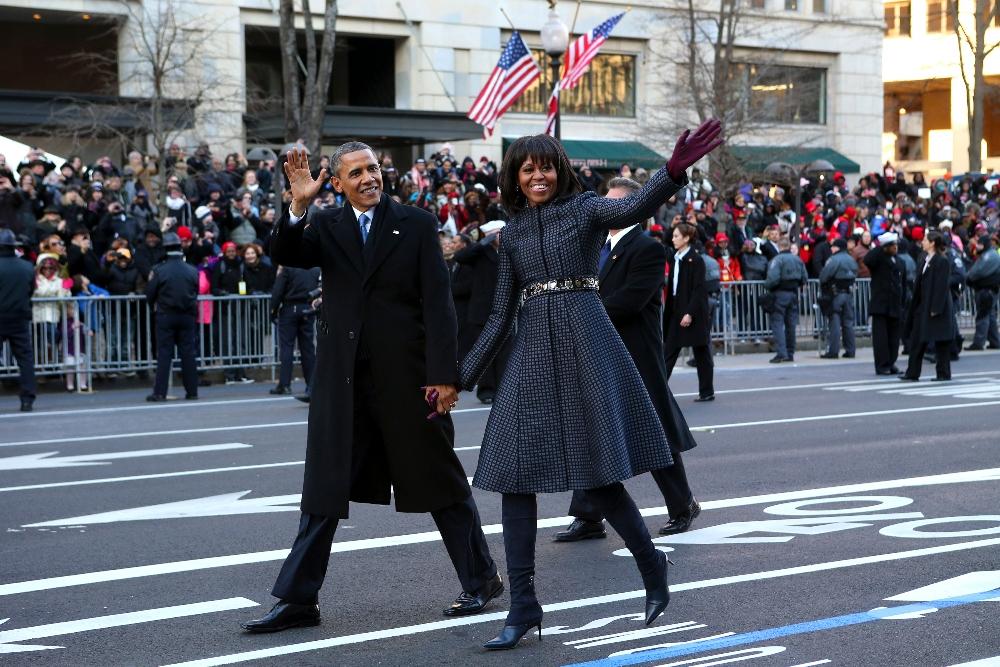 michelle obama, barack obama, inauguration, style, 2013