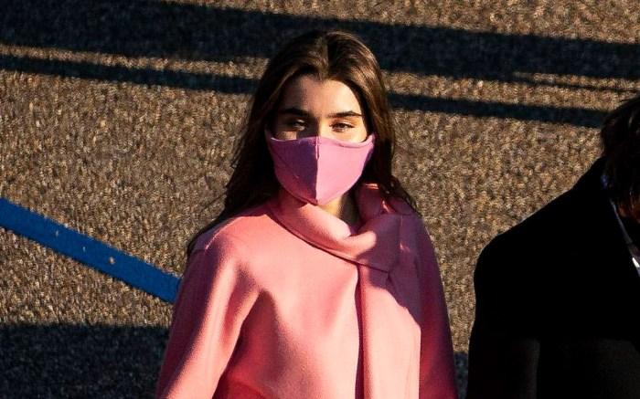 natalie-biden-boots-inauguration-pink