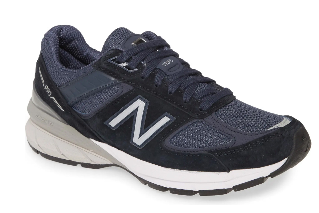 blue black sneakers, new balance