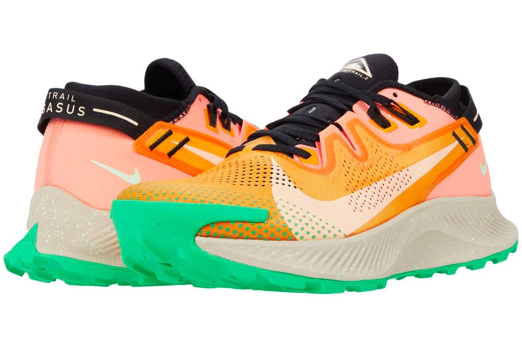 Nike Pegasus Trail 2, pink, green