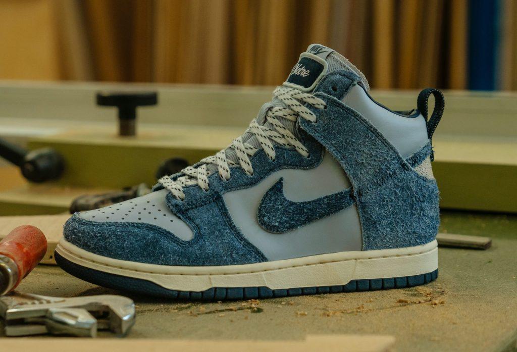 Notre x Nike Dunk High Blue
