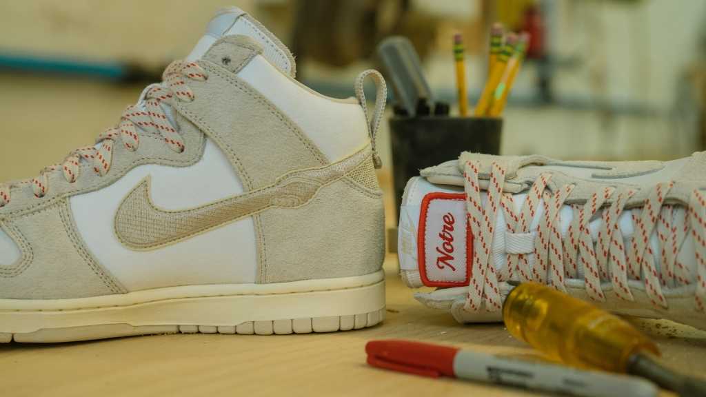Notre x Nike Dunk High Tan