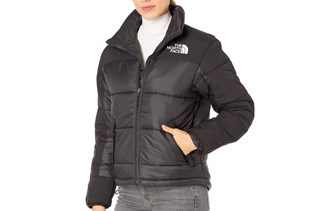 north face, puffer, jacket