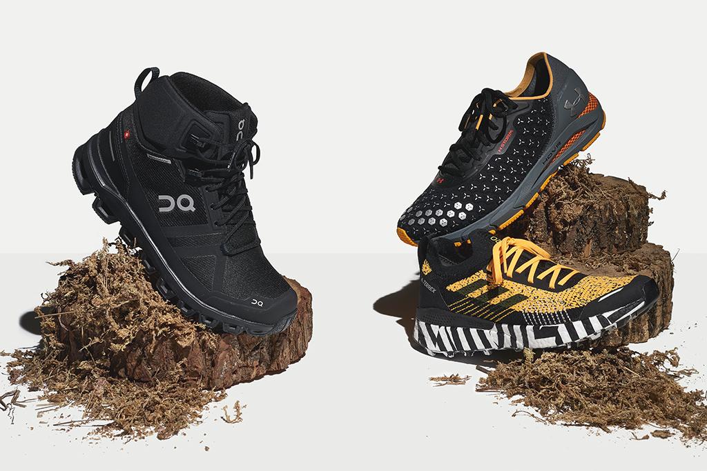 Hi-Tec Storm Mens Water Resistant Walking Outdoors Trail Sports Shoes Boots