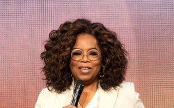 "Oprah Winfrey speaks onstage during ""Oprah's"