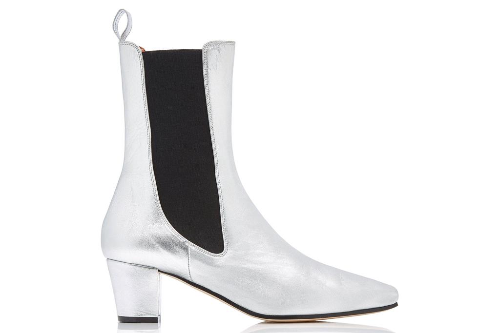 silver boots, metallic, paris texas
