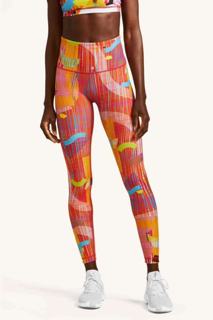 peloton, black history month capsule, monica ahanonu, leggings