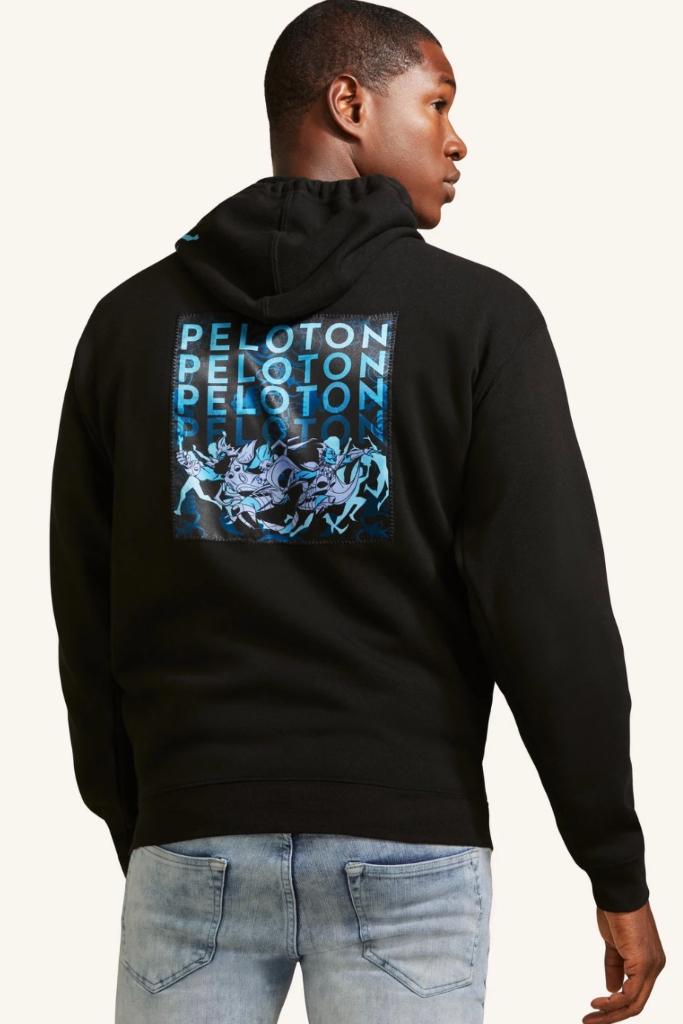 peloton, black history month capsule, sanford greene, hoodie