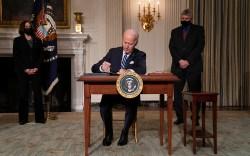 President Joe Biden climate change executive