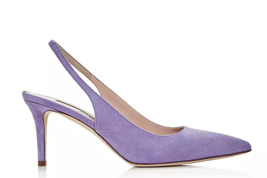 sjp pump, purple slingback pumps, sjp shoes on sale