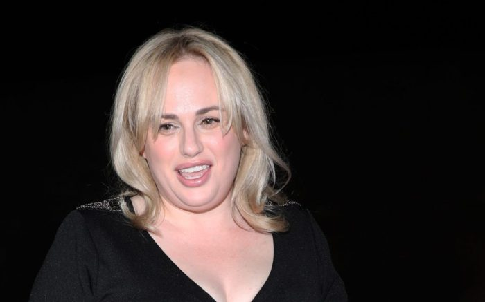 Rebel Wilson is all smiles as she heads to LA hot spot Craig's for dinner