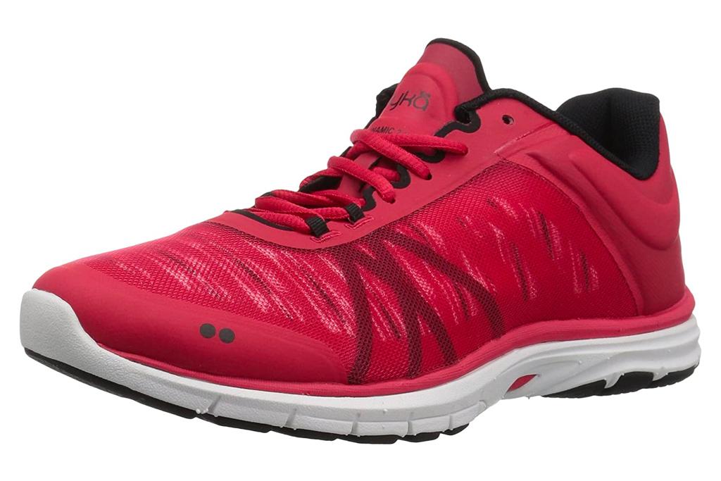 red sneakers, running shoes, rkya