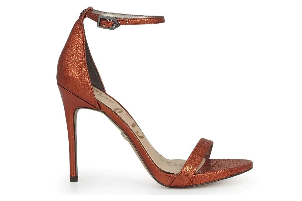 sandals, brown, heel, sam edelman
