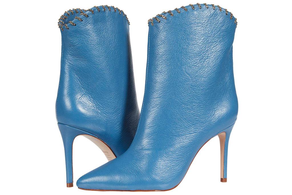 blue boots, schutz
