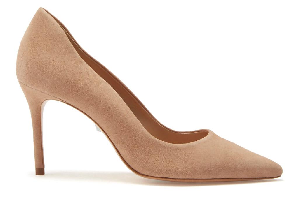 nude heels, pumps, suede, schutz