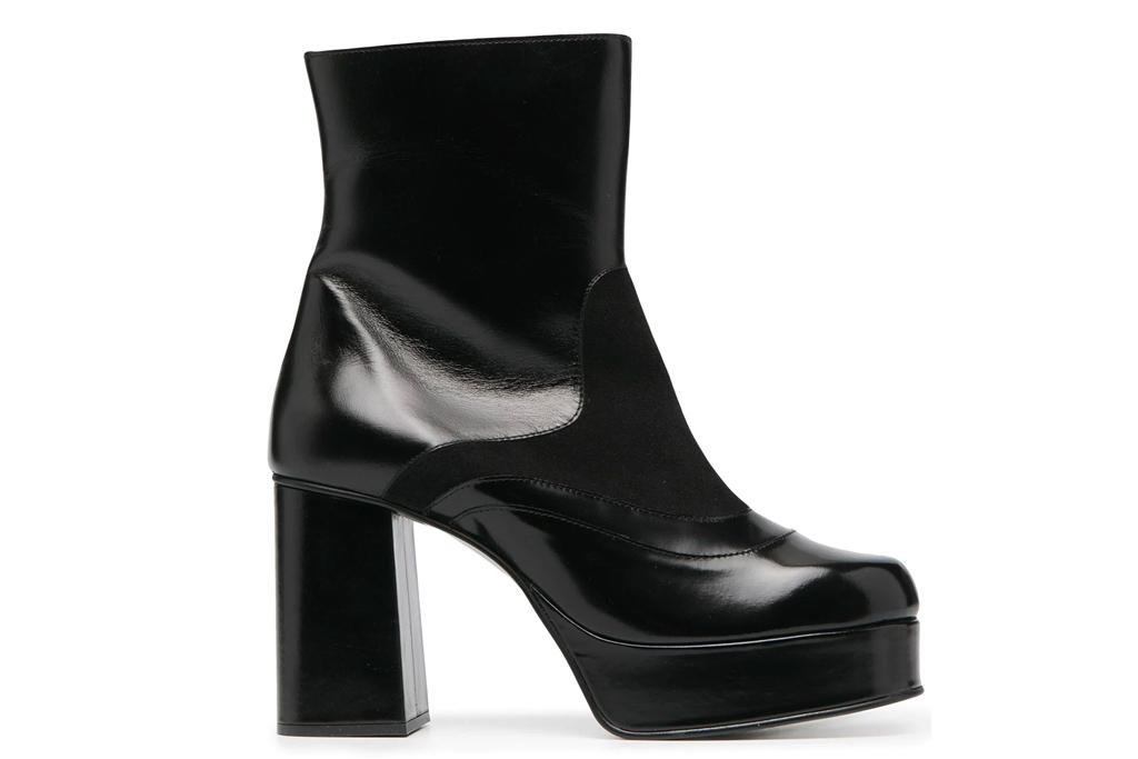 black boots, platform, see by chloe
