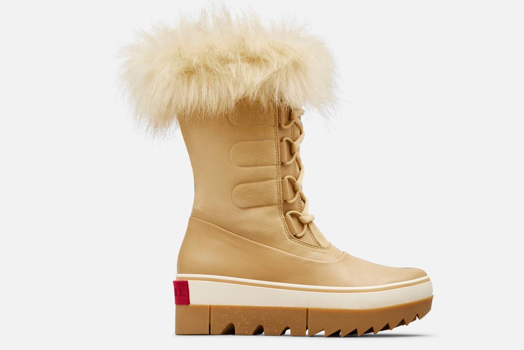 boots, snow boots, fur, sorel