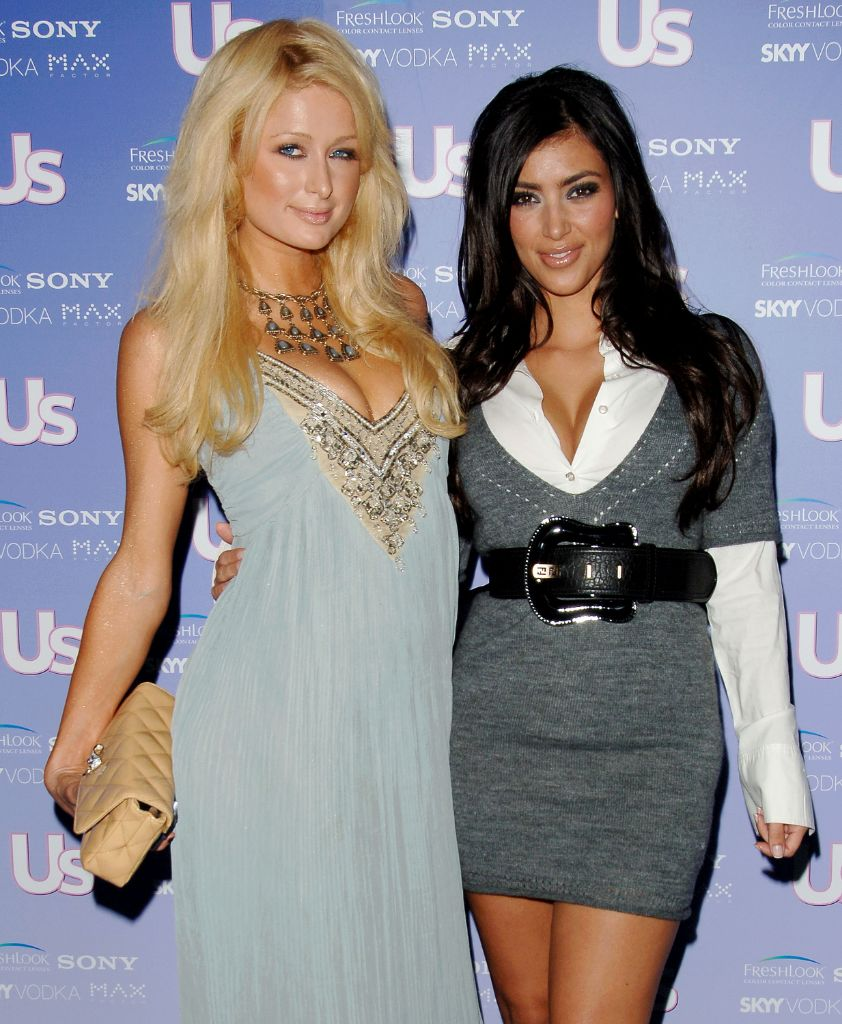 kim kardashian, paris hilton, kim kardashian paris hilton, 2000s style, 2000s fashion, 2000s belts