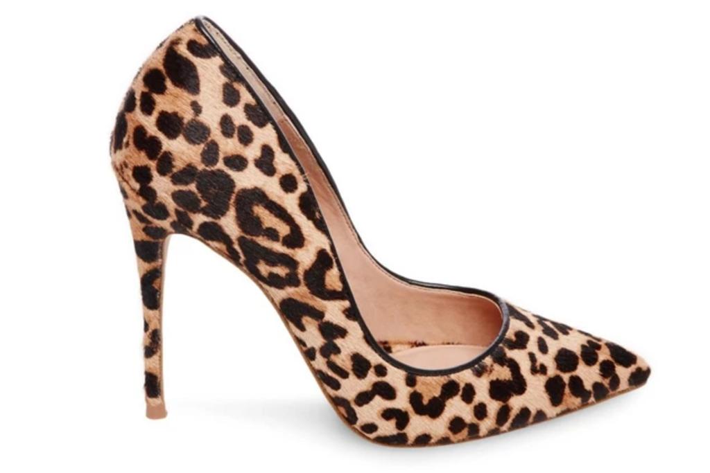 leopard heels, cheetah, pumps, steve madden
