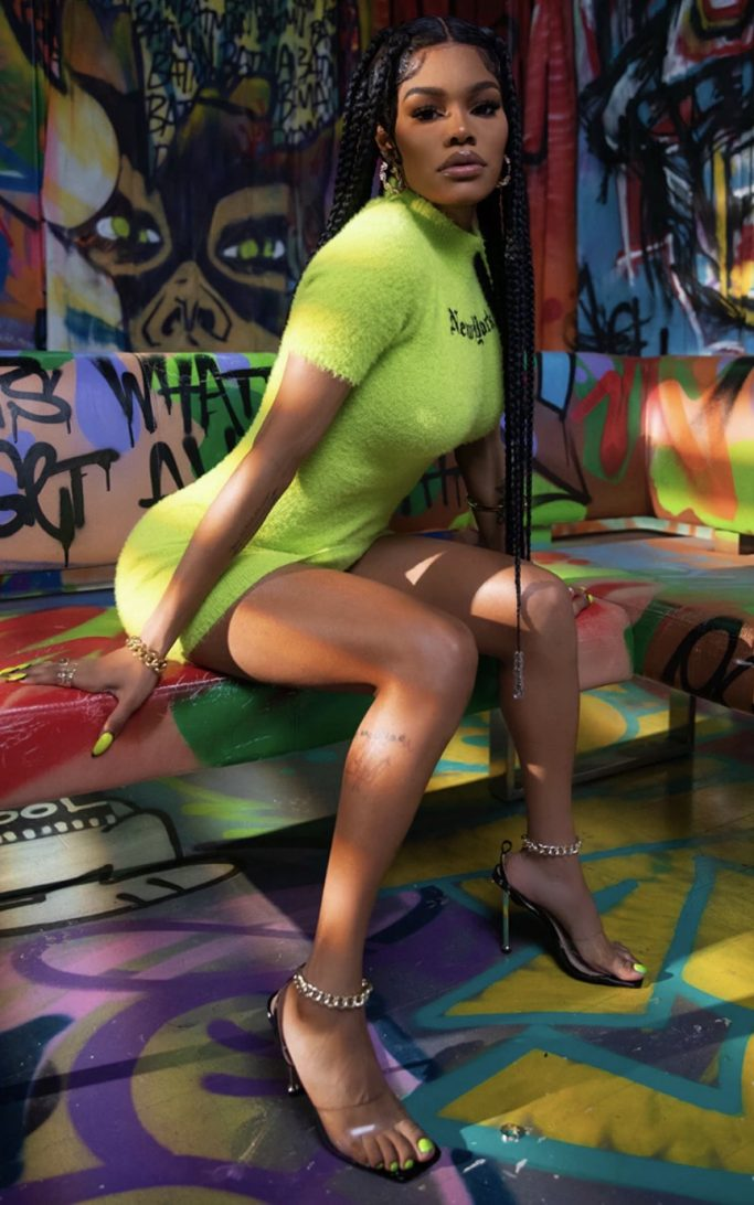 Teyana Taylor x PrettyLittleThing