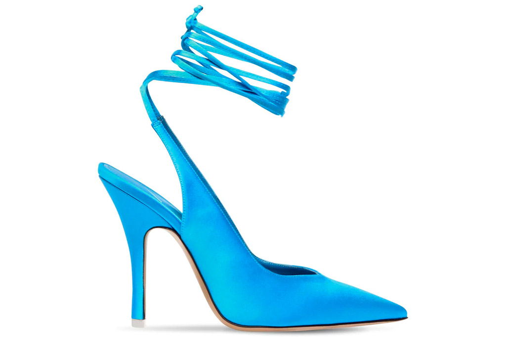 the attico, heels, venus, blue