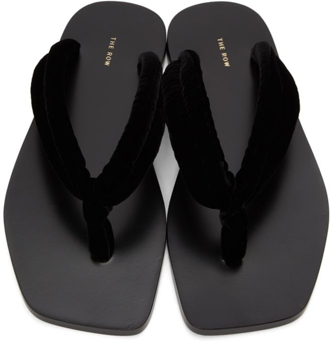 the row, the row shoes, the row sandals, thong sandals, thong, spring 2021 trends, 2021 trends