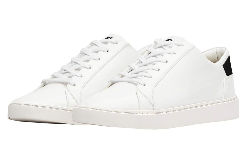 sneakers, white, black, thousand fell