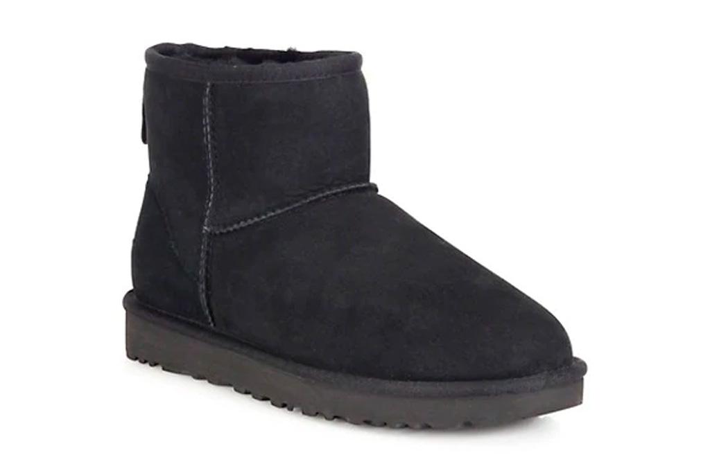 ugg, boots, black