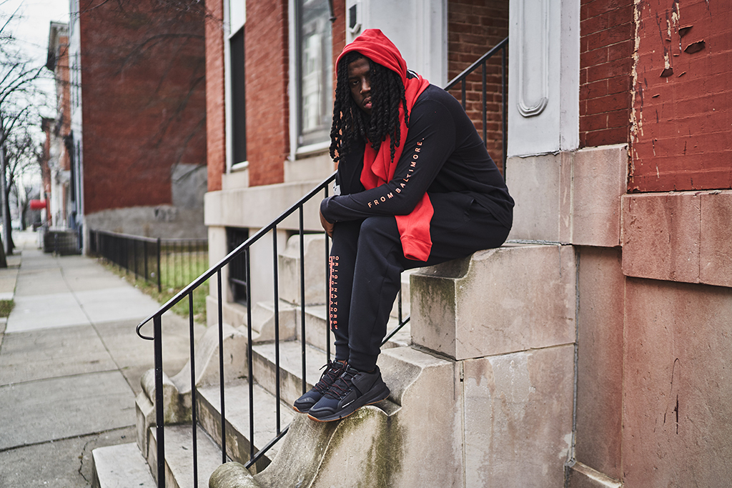 Under Armour and Photographer Devin Allen Create a 'Love Letter to Baltimore' With a Collaborative Black History Month Collection