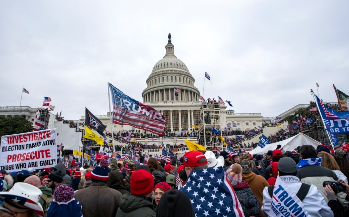 Trump Rally Capitol Building Washington DC