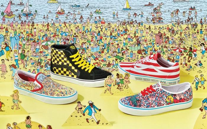 Vans Where's Waldo
