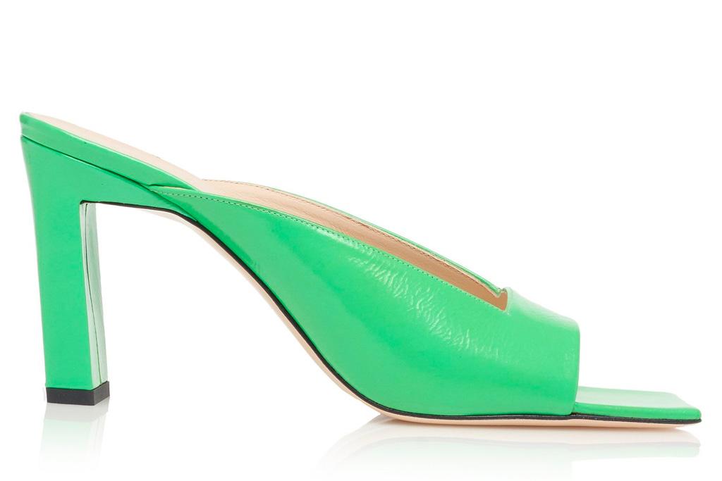 green sandals, wandler