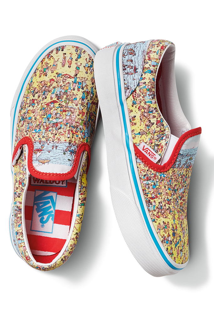 Where's Waldo Vans Slip-On