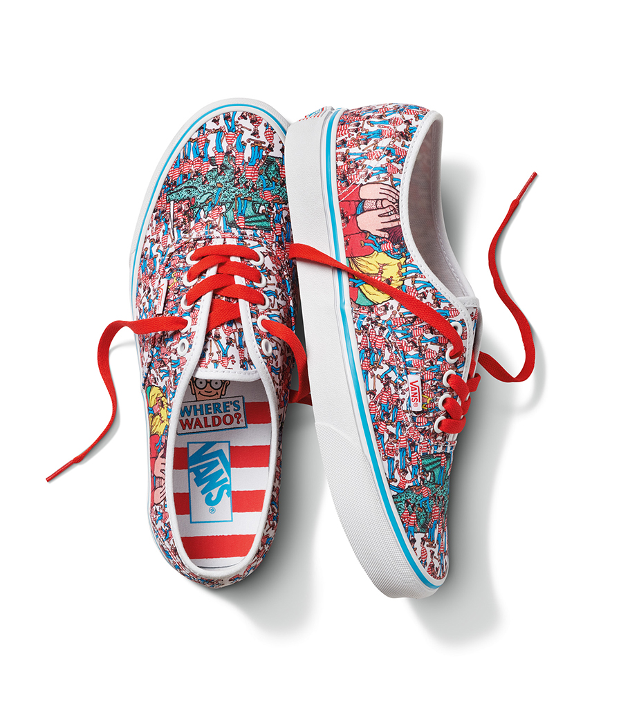 Where's Waldo Vans Authentic
