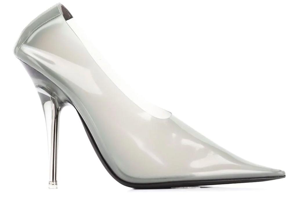 kanye west, yeezy, pvc, heels