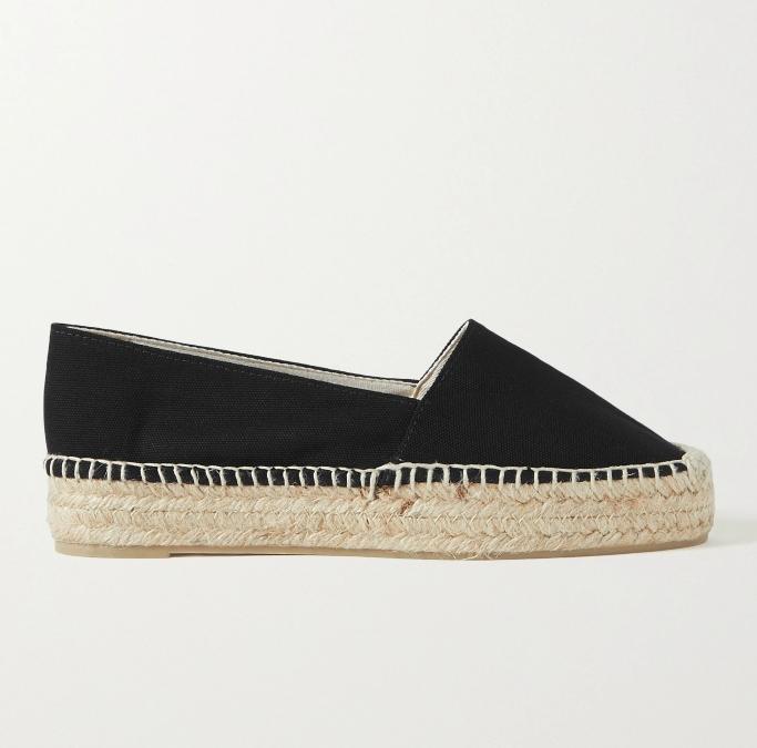 Castańer + Net Sustain Kenda Canvas Espadrilles, shoes you can wear without socks