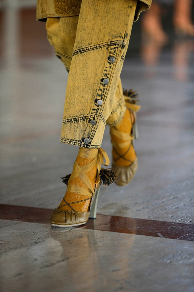 ulla johnson, craziest shoes at nyfw, fall '21