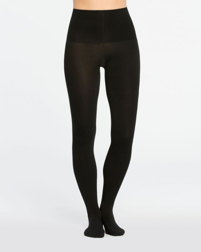 Spanx Plush Tummy Shaping Tights, warm tights