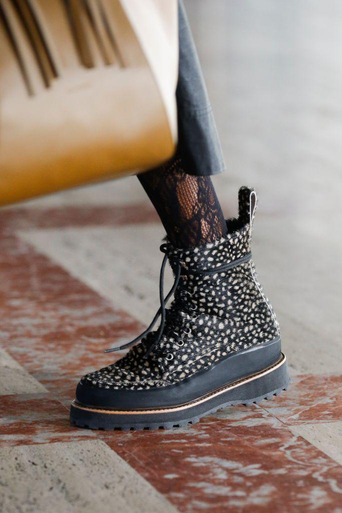 ulla johnson, ulla johnson x diemme hiking boots, nyfw fall '21